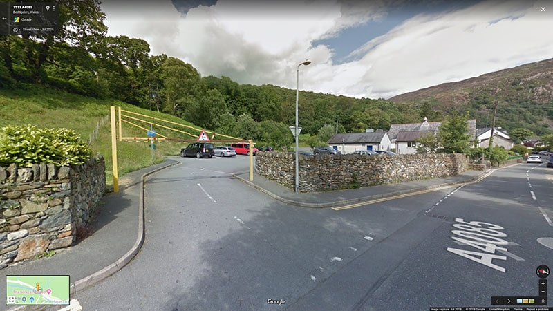 Parking in Beddgelert - Plas Tan y Graig Guest House